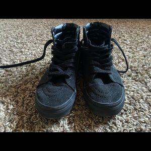 Vans Shoes - Black Hightop Vans Skater Shoes